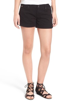 Hudson Jeans 'Croxley' Cuffed Shorts (White)