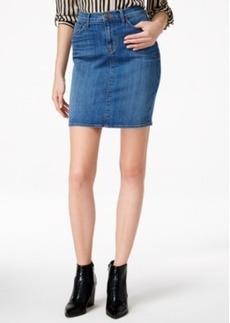 Hudson Jeans Denim Pencil Skirt