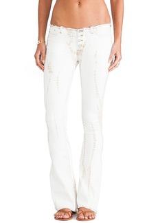 Hudson Jeans Ev Flare in Gypsy Sun