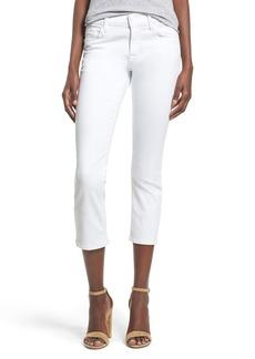 Hudson Jeans 'Fallon' Crop Skinny Jeans (White)