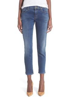 Hudson Jeans 'Finn' Crop Boyfriend Skinny Jeans