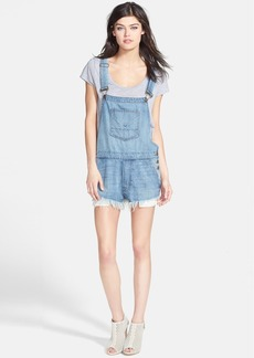 Hudson Jeans 'Florence' Cutoff Overalls (Immortal)