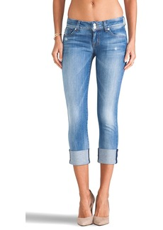 Hudson Jeans Ginny Crop in Vodoo Child