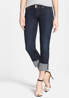 Hudson Jeans 'Ginny' Crop Stretch Jeans (Forsythia)