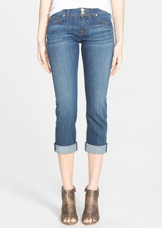 Hudson Jeans 'Ginny' Cuffed Skinny Jeans (Deco)