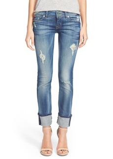 Hudson Jeans 'Ginny' Rolled Crop Jeans (Blondie)