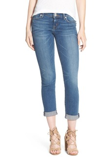 Hudson Jeans 'Ginny' Rolled Crop Jeans (Hot Springs)
