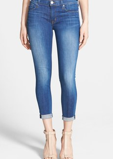 Hudson Jeans 'Harkin' Rolled Crop Skinny Jeans (Stepping Stone)