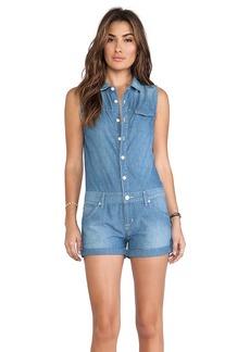 Hudson Jeans Harmony Romper in Blue