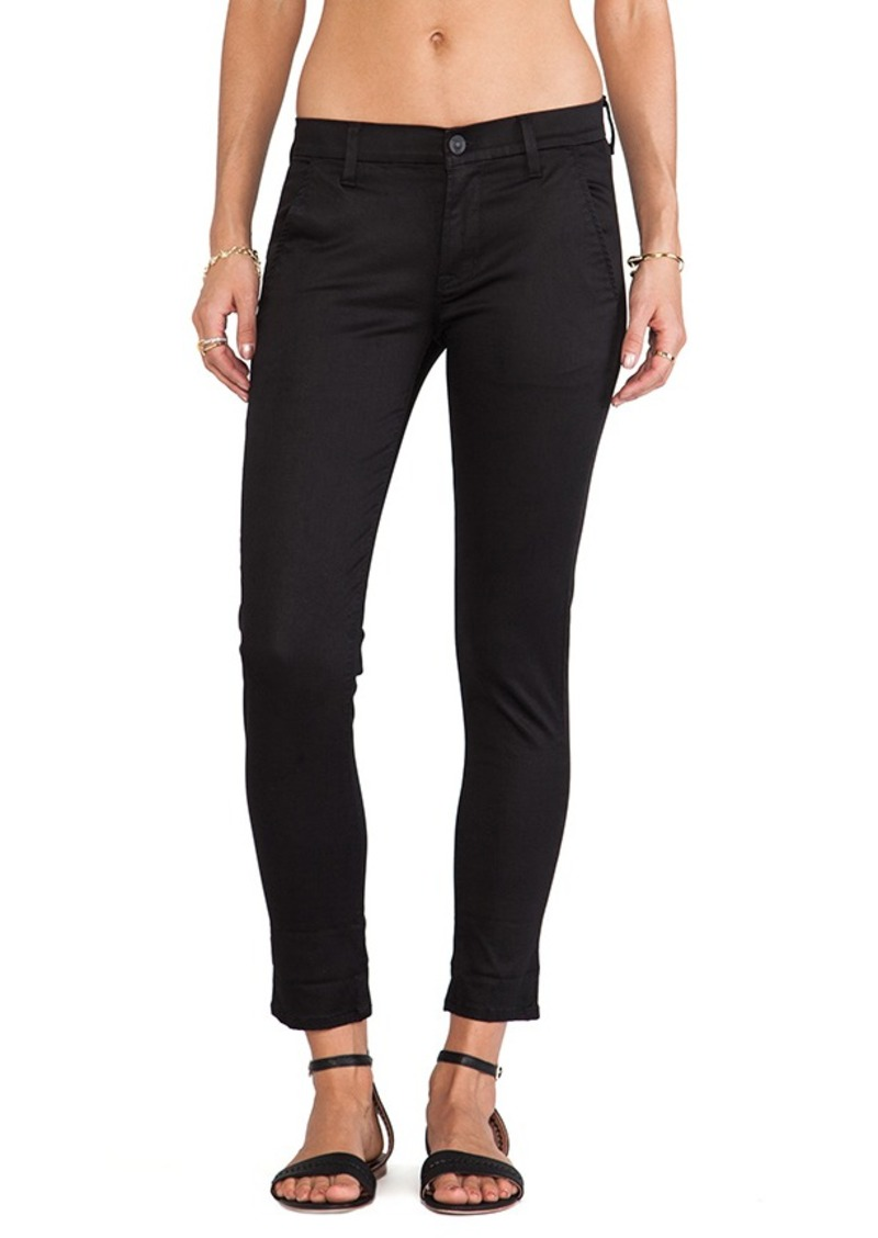 Hudson Jeans Jamie Slim Chino in Black