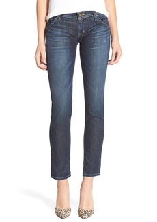 Hudson Jeans 'Jax' Boyfriend Skinny Jeans (Dark Mosaic)