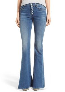 Hudson Jeans 'Jodi' High Rise Flare Jeans (Blockade Blue)