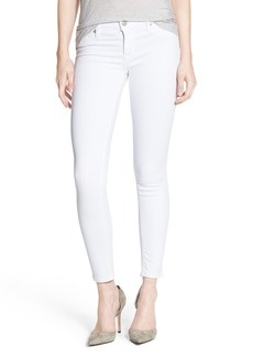 Hudson Jeans 'Krista' Crop Skinny Jeans (Steamer Stripe)