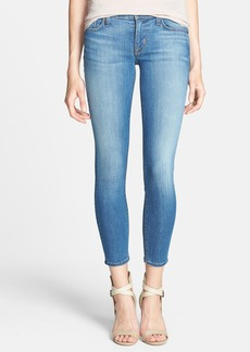 Hudson Jeans 'Krista' Crop Super Skinny Jeans (Worship Me)