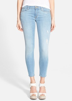 Hudson Jeans 'Krista' Low Rise Ankle Skinny Jeans (Mulholland)