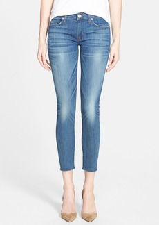 Hudson Jeans 'Krista' Raw Edge Crop Jeans (Talk the Talk)