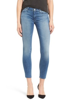 Hudson Jeans 'Krista' Raw Hem Ankle Super Skinny Jeans (Authenticator)