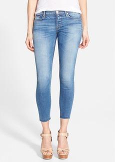 Hudson Jeans 'Krista' Raw Hem Skinny Jeans (Hot Spring)