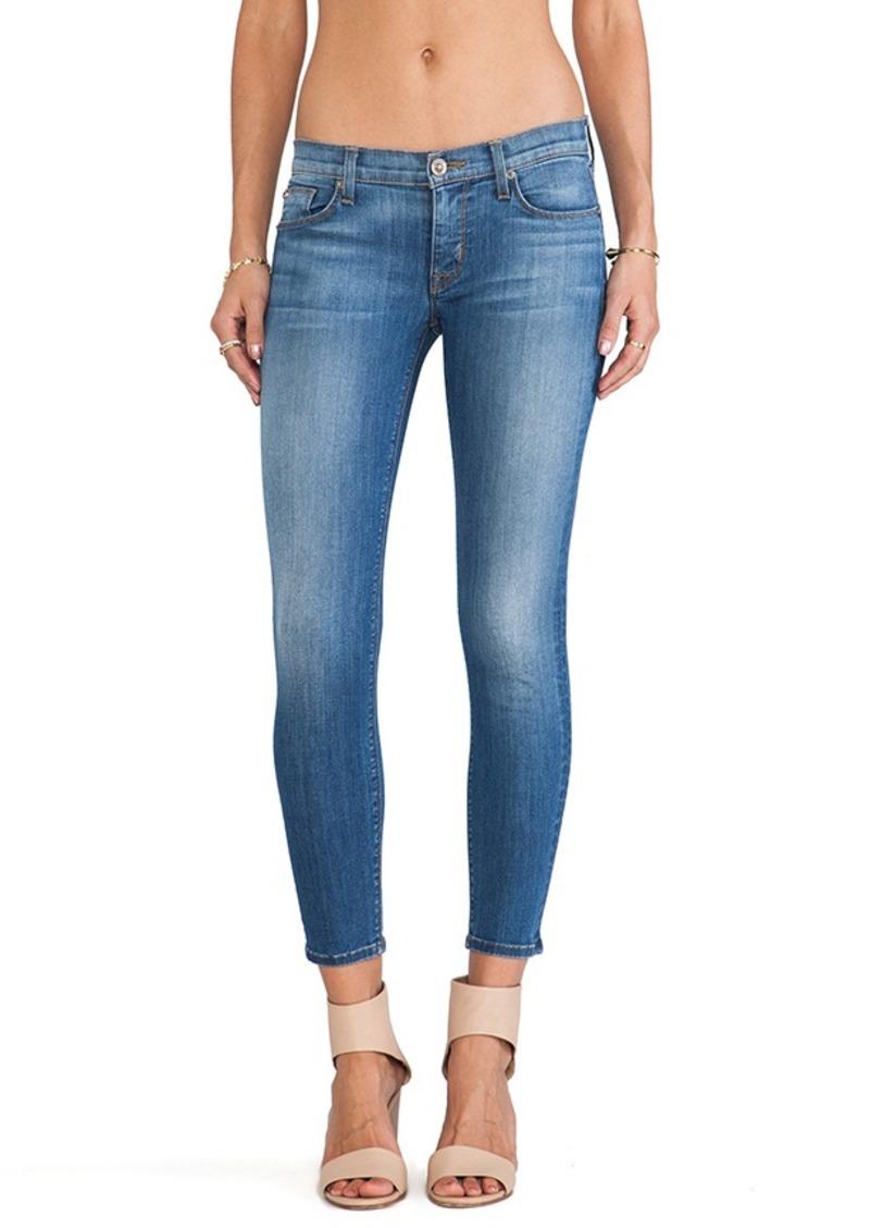 Hudson Jeans Krista Skinny Crop in Worship Me