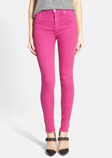 Hudson Jeans 'Krista' Super Skinny Jeans (Bright Hydrangea)