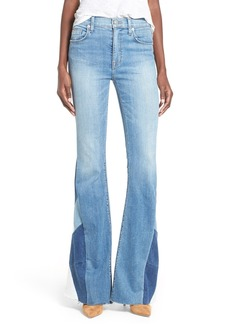 Hudson Jeans 'Laurel' Patchwork Flare Jeans (Radio Silence)