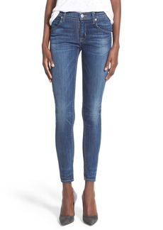 Hudson Jeans 'Lilly' Mid Rise Ankle Skinny Jeans (Indigo Aster)
