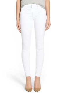Hudson Jeans 'Lilly' Mid Rise Jeans (White)