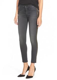 Hudson Jeans 'Luna' High Rise EmbellishedSkinny Jeans (Cosmonaut Grey)