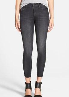 Hudson Jeans 'Luna' Raw Hem Crop Jeans (Varnished)