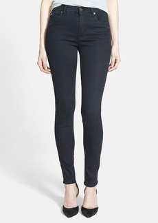 Hudson Jeans 'Lynne' High Rise Skinny Jeans (Shrine)