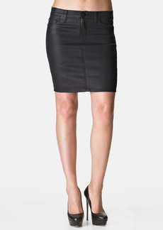 Hudson Jeans 'Mattie' Pencil Skirt (Black Wax)