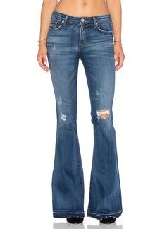 Hudson Jeans Mia 5 Pocket Midrise Flare