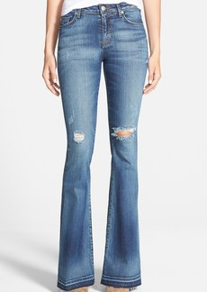 Hudson Jeans 'Mia' Mid Rise Flare Jeans (Beaudry)