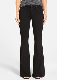 Hudson Jeans 'Mia' Mid Rise Flare Jeans (Black)