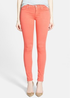 Hudson Jeans Mid Rise Skinny Jeans (California Poppy)
