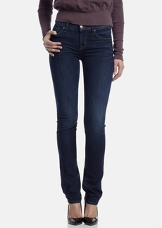 Hudson Jeans Mid Rise Straight Leg Jeans (Unplugged)