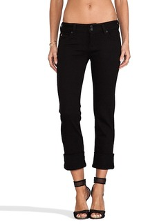 Hudson Jeans Muse Crop in Black