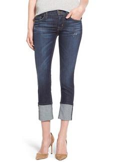 Hudson Jeans 'Muse' Cuff Crop Jeans