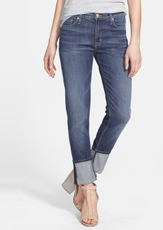 Hudson Jeans 'Muse' Cuff Crop Jeans (Hackney)