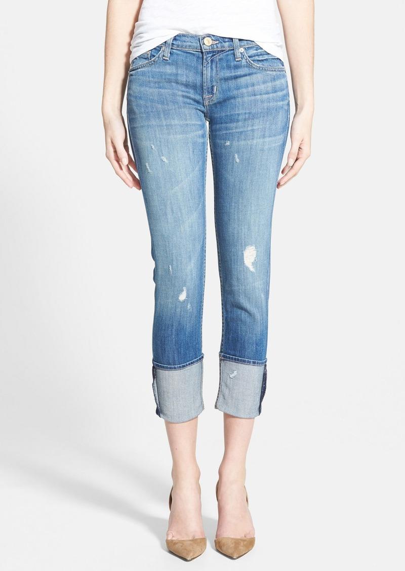 Hudson Jeans 'Muse' Cuff Crop Jeans (Indie)