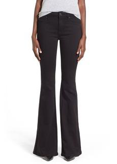 Hudson Jeans 'Natasha' Flare Jeans (Black)