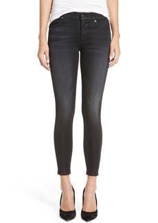 Hudson Jeans 'Nico' AnkleSuper Skinny Jeans (Andromeda Grey)