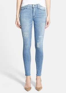 Hudson Jeans 'Nico' Distressed Skinny Stretch Jeans (Buzzworthy)