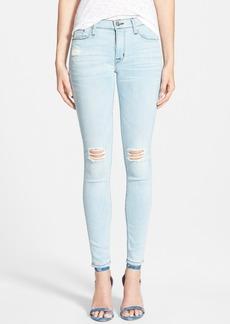 Hudson Jeans 'Nico' Distressed Skinny Stretch Jeans (Strata)
