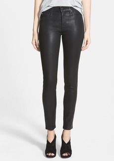 Hudson Jeans 'Nico' Mid Rise Skinny Stretch Jeans (Jet Black)