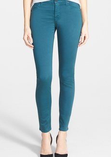 Hudson Jeans 'Nico' Mid Rise Super Skinny Jeans (Graphite Teal)