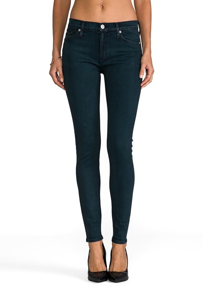 Hudson Jeans Nico Skinny in India Green