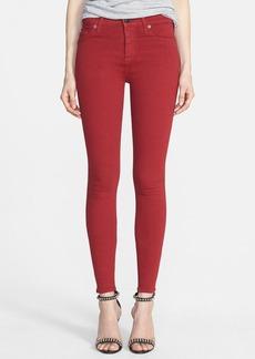Hudson Jeans 'Nico' Skinny Stretch Jeans (Cinnabar)