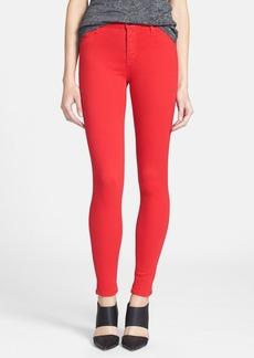 Hudson Jeans 'Nico' Skinny Stretch Jeans (Infrared)