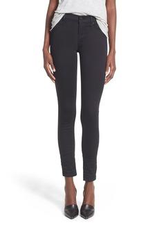 Hudson Jeans 'Nico' Super Skinny Jeans (Black Thistle)